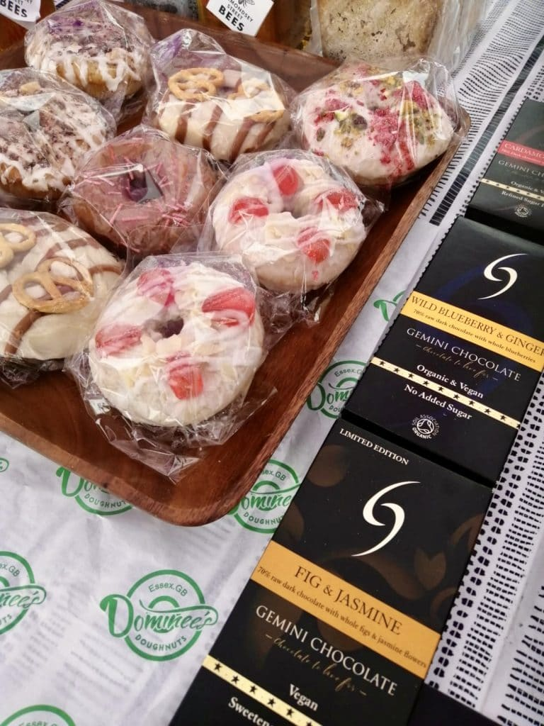 Dominee's Doughnuts and Gemini Chocolate