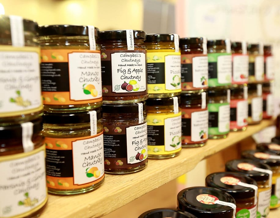 Selection of Campbell's Chutneys